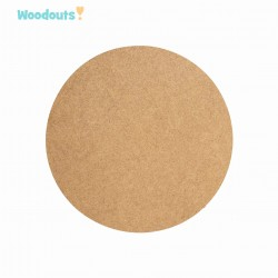 MDF -Large Shape - CIRCLE 19.5 cm