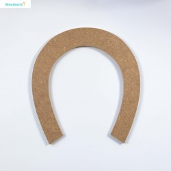 MDF -Large Shape - HORSESHOE