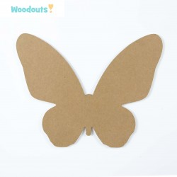 MDF -Large Shape - BUTTERFLY