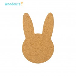 MDF -Large Shape - BUNNY