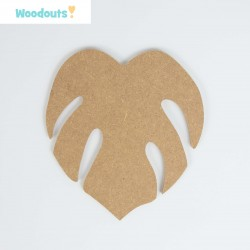 MDF -Large Shape - TROPICAL LEAF