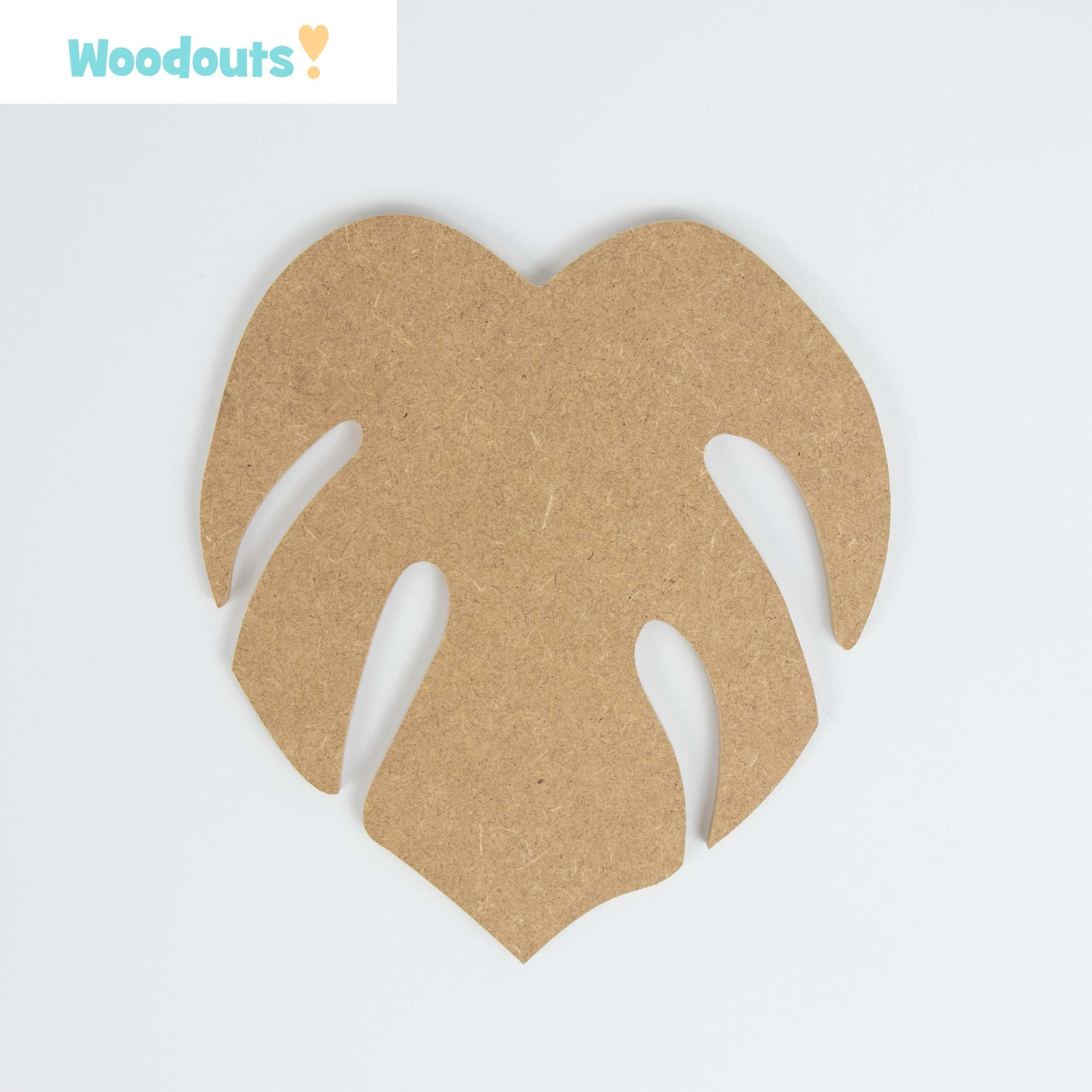 Wrapper Various Sizes Sweet Craft Shape 2mm MDF Wood Candy Sweets