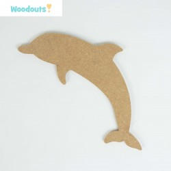 MDF -Large Shape - DOLPHIN