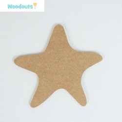 MDF -Large Shape - STARFISH