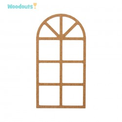 MDF -Large Shape - WINDOW