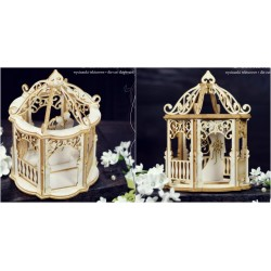 Chipboard 3D  - Wedding Gazebo