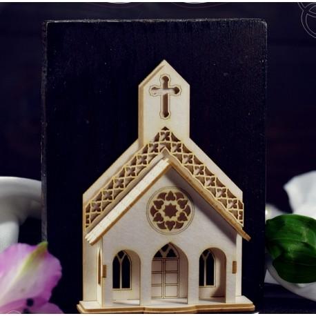 Chipboard 3D  - Church