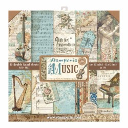 Scrapbooking Paper- MUSIC (12x12)