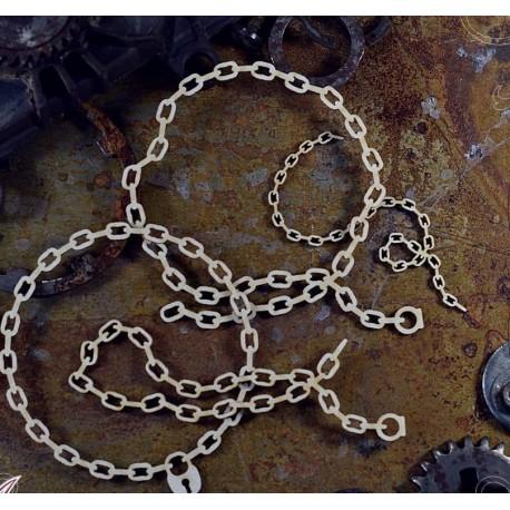Chipboard  STEAMPUNK / Chains