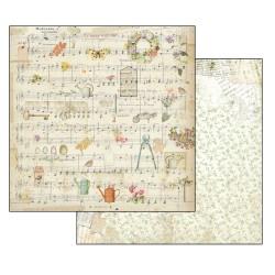 Scrapbooking Paper - GARDEN (12x12)