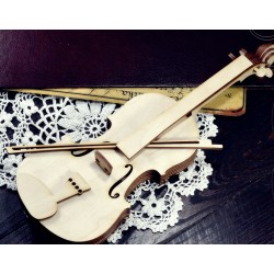 MDF -Large Shape - VIOLIN 3D
