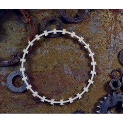 Chipboard  STEAMPUNK / Razor wire frame