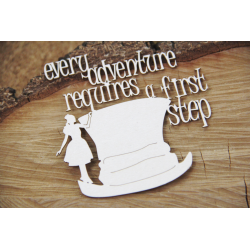 Chipboard - Wonderland -Every adventure