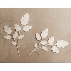 Chipboard - Branches  Herbs /2pcs