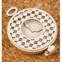 Chipboard 3D - Alice/ Pocket watch 3D
