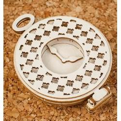 Chipboard 3D - Alice/ Pocket watch 3D