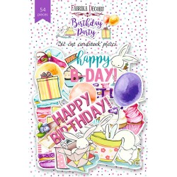DIE CUT Elements - Birthday Party / 54pcs