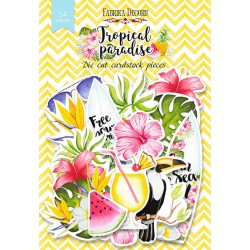 DIE CUT Elements - Tropical Paradise / 54pcs