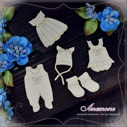 Chipboard - Girl's clothing