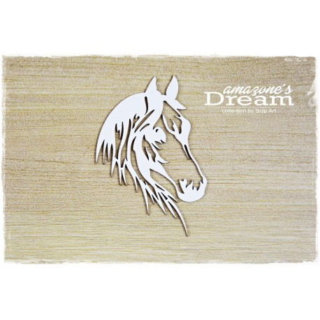 Chipboard - openwork horse