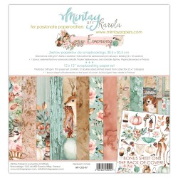 Scrapbooking Papers - COZY EVENING (12x12)