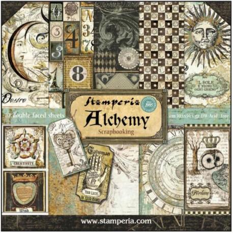 Scrapbooking Paper - ALCHEMY (12x12)