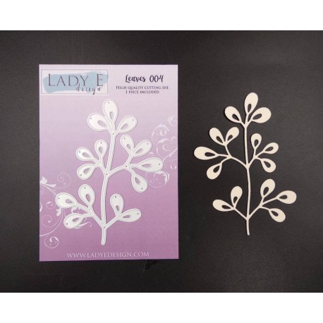 Lady E Design  Dies - Mistletoe