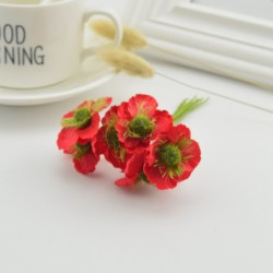 Silk Flowers/Small Anemone/RED