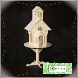 Chipboard -  Cottage House/ 3D