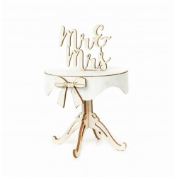 Chipboard - Wedding Table /3D