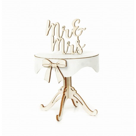 Chipboard - Wedding Table /3D