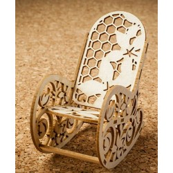 Chipboard - Rocking-chair /3D