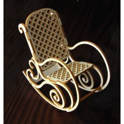 Chipboard - Grandma's Chair /3D