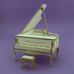 Chipboard - Piano /3D