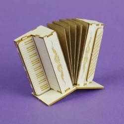 Chipboard - Accordion /3D
