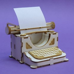 Chipboard - Typewriter /3D
