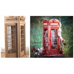 MDF - Telephone booth / 3D