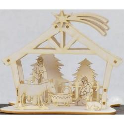 CHIPBOARD - Nativity Scene / 3D
