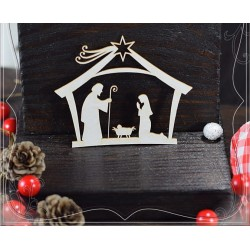 CHIPBOARD - Nativity Scene