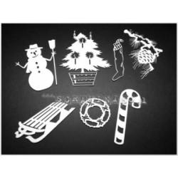 Chipboard -  Christmas