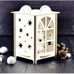 Chipboard - Advent lantern 3D