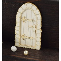 Chipboard - Old Door with fittings