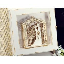 Chipboard 3D  - Wedding Pergola /narrow for decor box