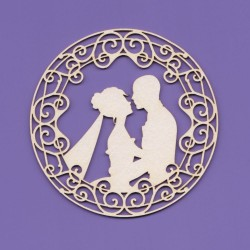 Chipboard - Wedding Pergola Circle Frame