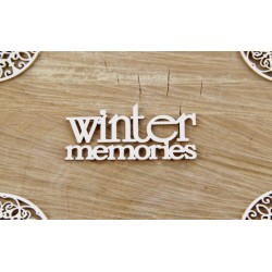 Chipboard -   Winter memories