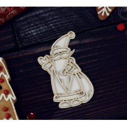 Chipboard - Layered Santa