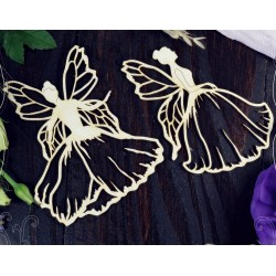 Chipboard - Fairies / 2pcs