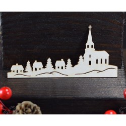 "Chipboard - Winter Town ""B"""