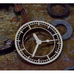 Chipboard - STEAMPUNK/Industrial clock