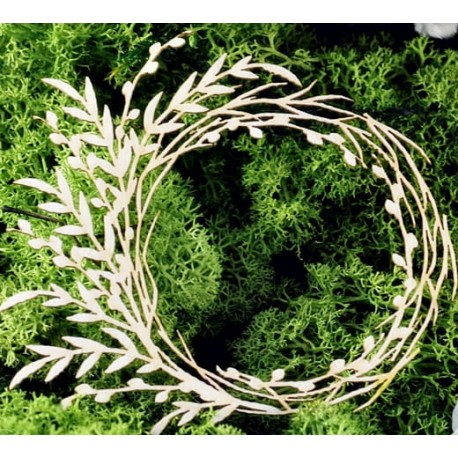 Chipboard - Wreath